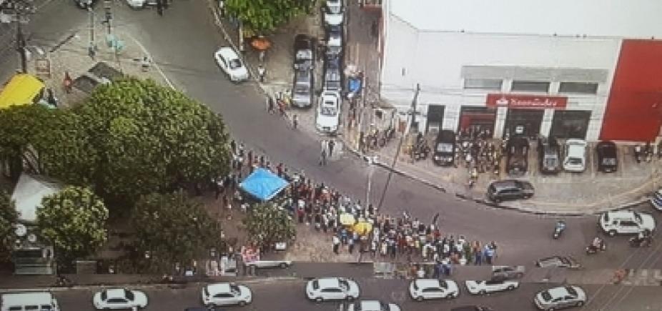 Polícia apura possível participação de funcionários em assalto a banco na Calçada