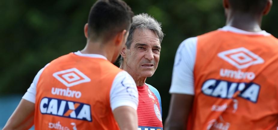 Com novidades, Carpegiani relaciona 20 jogadores para duelo com o Palmeiras