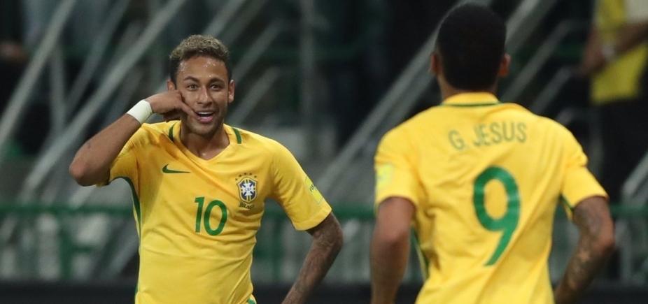 Brasil atropela, vence por 3 a 0 e tira o Chile da Copa do Mundo