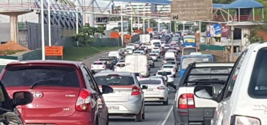 Trânsito: confira os pontos de retenção no início desta quarta-feira