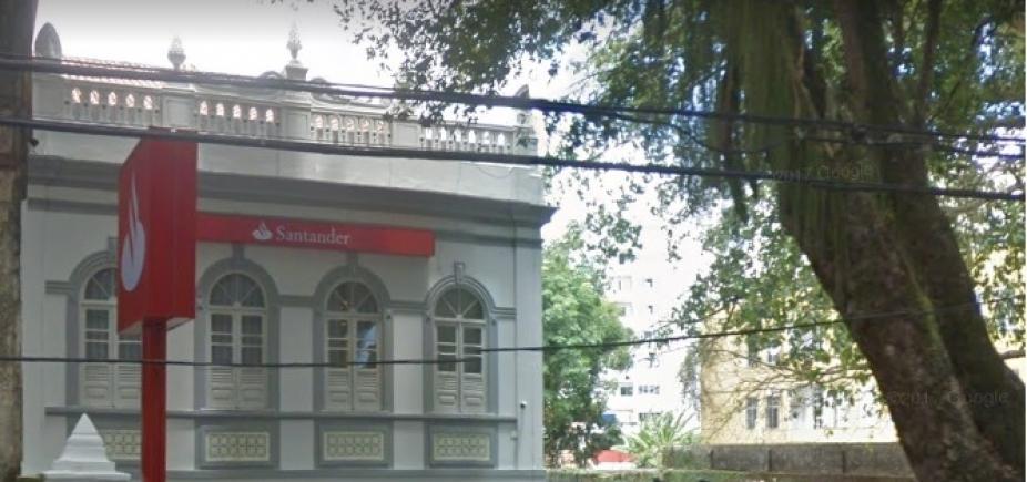 Dois suspeitos de tentativa de assalto a agência do Santander na Vitória são presos