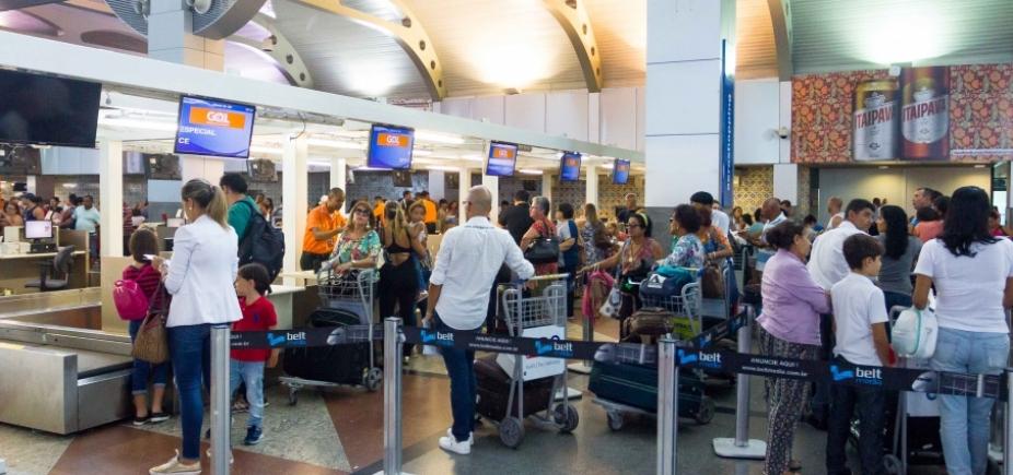 Aeroporto terá reestruturação da área de check-in e reforço na segurança, adianta Vinci