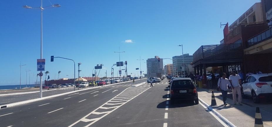 Prefeito inaugura intervenção viária na Avenida Octávio Mangabeira