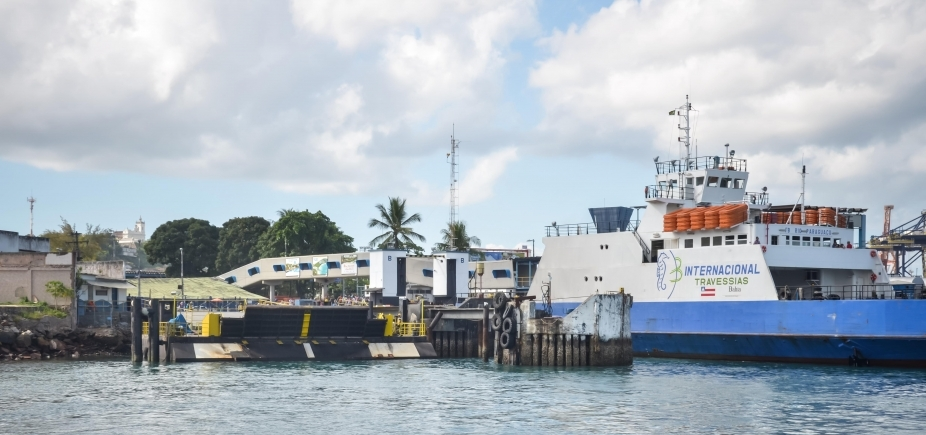 Ferry tem fluxo moderado em São Joaquim; saídas acontecem a cada 30 minutos nesta sexta