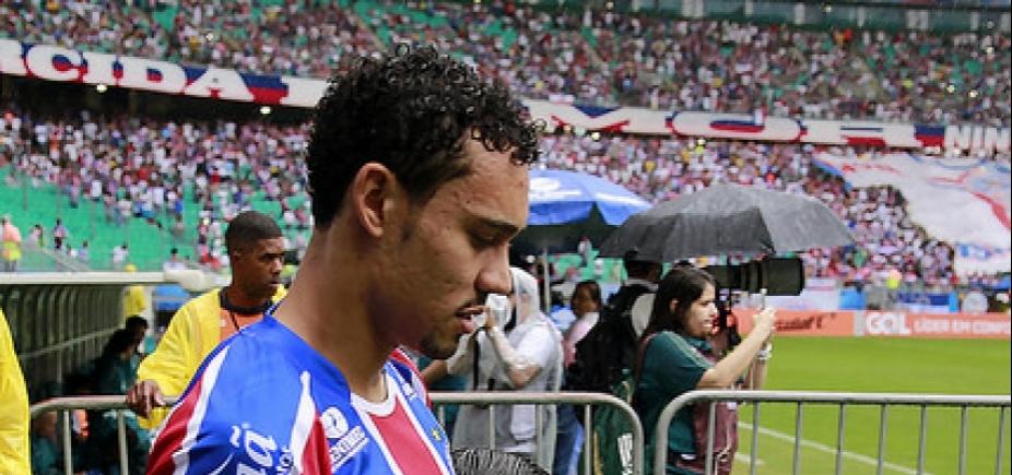 Autor dos gols do Bahia, Edigar Junio ressalta ʹconfiançaʹ de Carpegiani