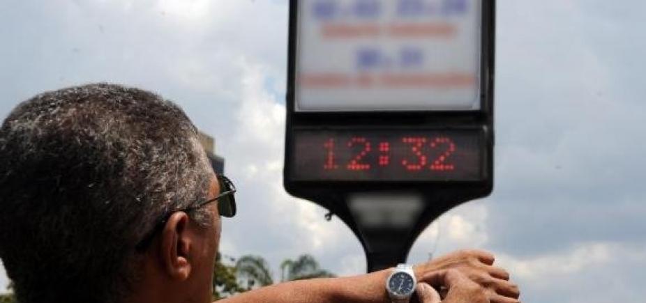 Horário de Verão começa à 0h deste domingo em três regiões