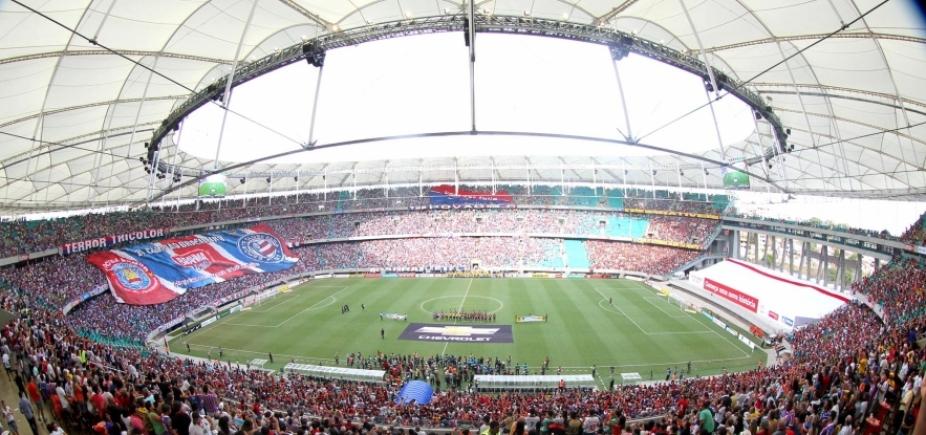 Bahia e Corinthians se enfrentam neste domingo na Fonte Nova; Metrópole transmite