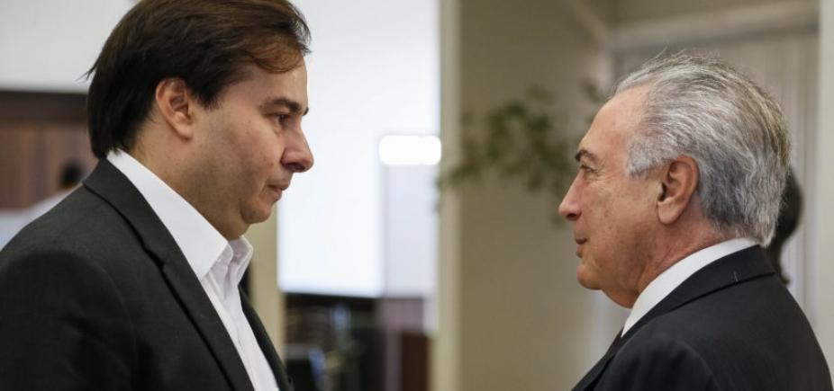 """Ministro minimiza crise entre Maia e Temer após divulgação de delação: \""""Ministra não pedia sigilo\"""""""