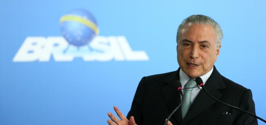 Nada atrapalha votação da denúncia, diz Temer sobre vídeos de Funaro
