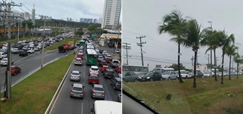 Estrada do Coco, Cia-Aeroporto, Paralela: saiba onde tem congestionamento nesta quarta