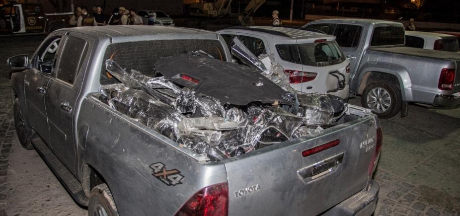 Dupla especializada em desmanche de veículos é presa em Juazeiro