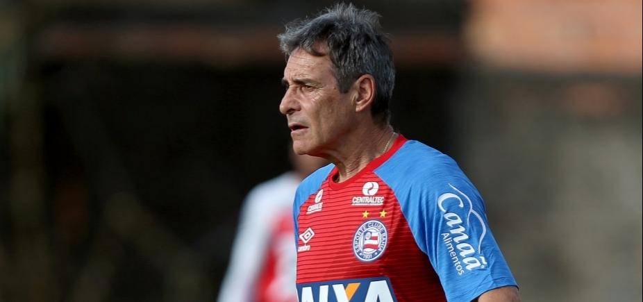 Sem Rodrigão, Carpegiani divulga relacionados do Bahia para enfrentar o Flamengo