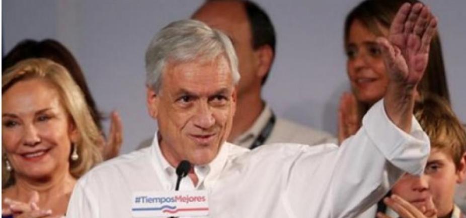Sebastián Piñera toma posse neste domingo na presidência do Chile