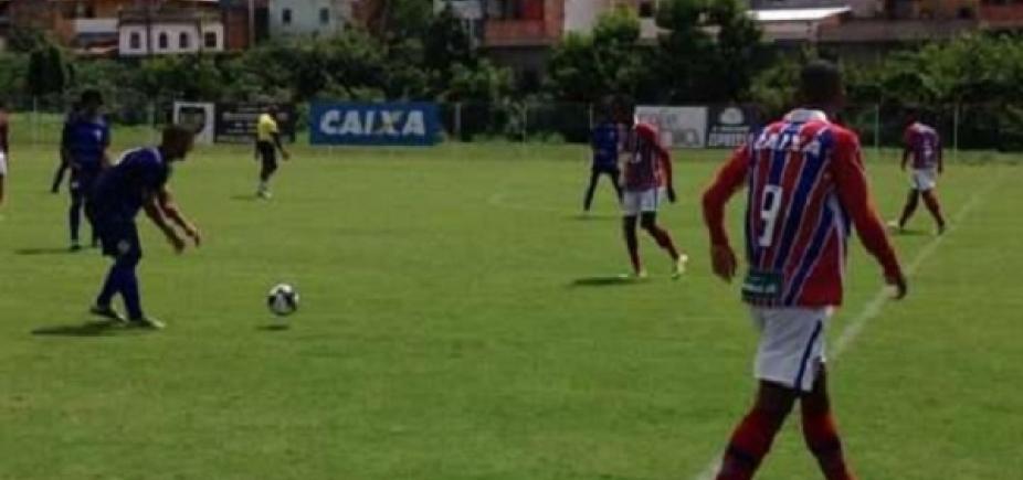 Sub-20: Bahia é goleado pelo Atlântico em estreia do Campeonato Baiano