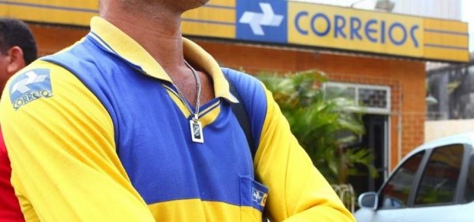 Funcionários dos Correios entram em greve hoje