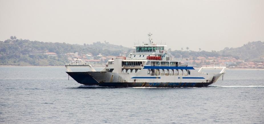 Ferry boat: movimento é tranquilo nesta tarde