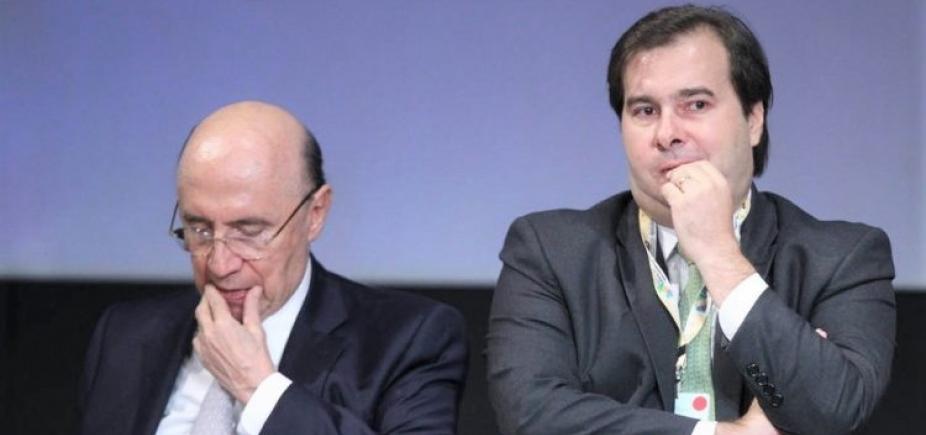 De olho na Presidência, Meirelles e Maia usam jatos da FAB