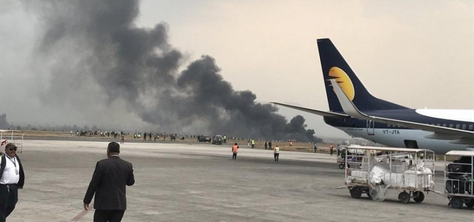 Acidente de avião deixa pelo menos 40 mortos no Nepal