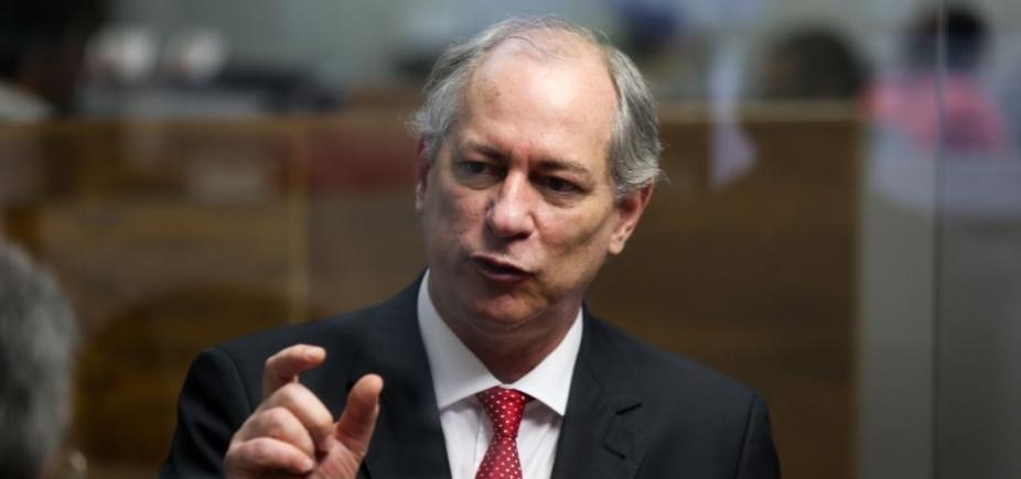 Jamais assinaria a ʹCarta ao Povo Brasileiroʹ, diz Ciro Gomes