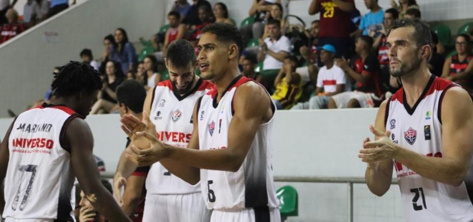 Vitória encerra 1ª fase do NBB contra o Franca em Cajazeiras