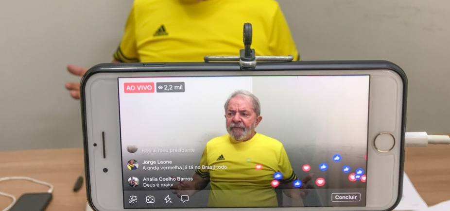 'Estou pronto para ser preso', afirma Lula