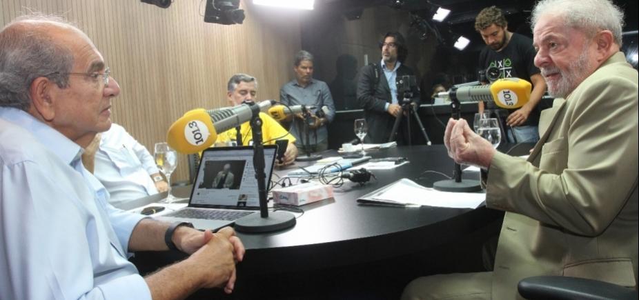 Lula diz que 'meninos da Lava Jato' destruíram a Petrobras