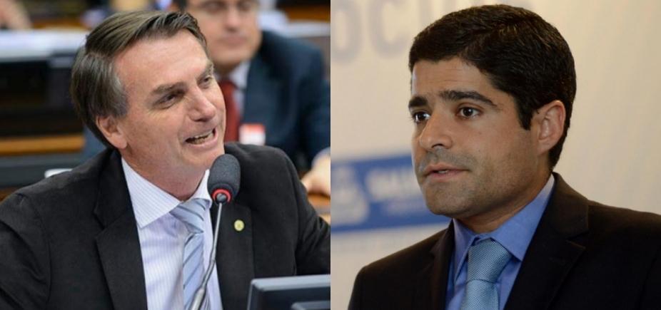 ACM Neto e Bolsonaro se reúnem em Brasília, diz coluna