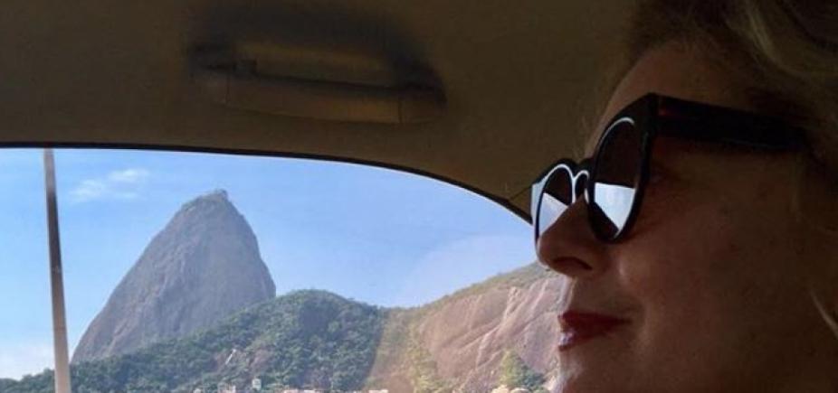 Atriz Vera Fischer retorna às novelas da Globo
