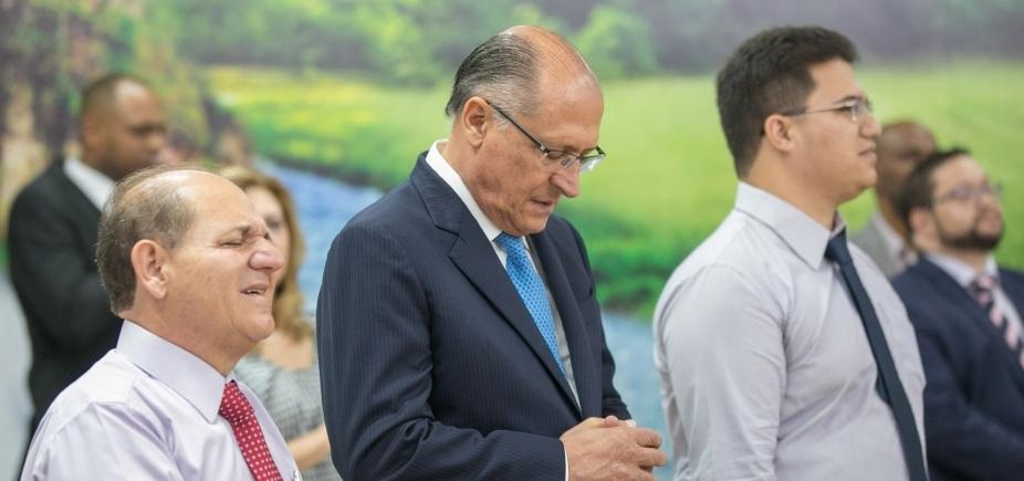 ʹNão vou brigar com PT, vou olhar para o futuroʹ, diz Alckmin