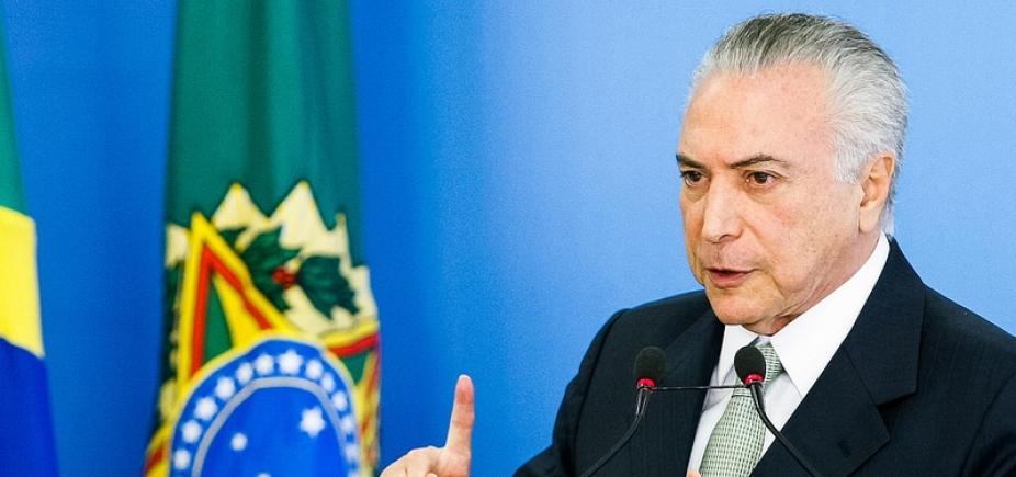 Temer diz que vai repassar até R$ 800 milhões para o Rio