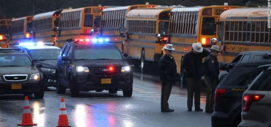 Tiroteio em escola de Maryland deixa um morto e dois feridos