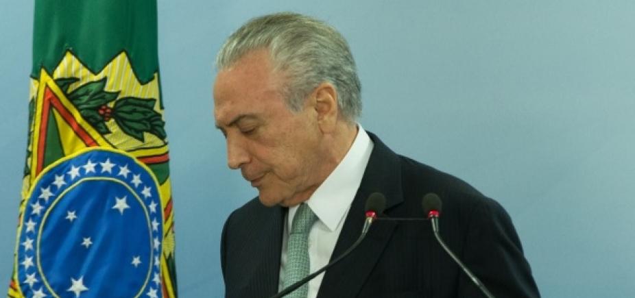 Temer pede prioridade em reoneração da folha para investir na segurança do RJ
