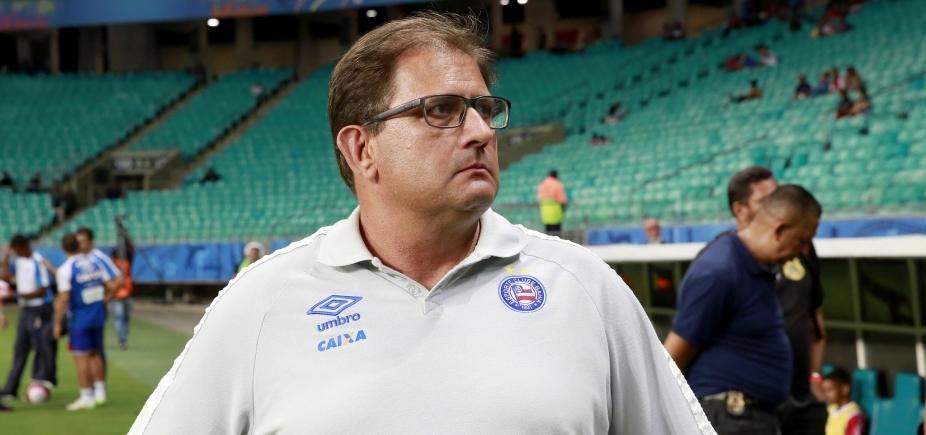 Guto crê em melhora do Bahia e nega que pedirá demissão: ʹAcredito no que estamos fazendoʹ