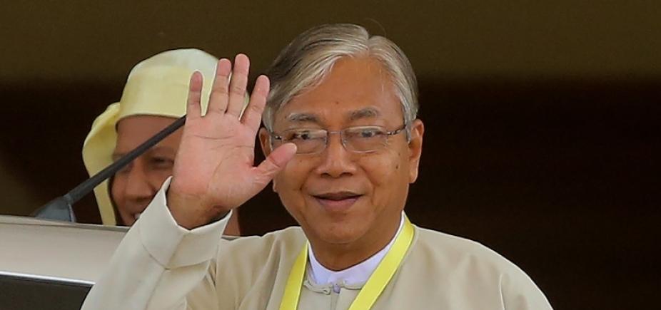 Mianmar: presidente renuncia ao cargo para ʹdescansarʹ