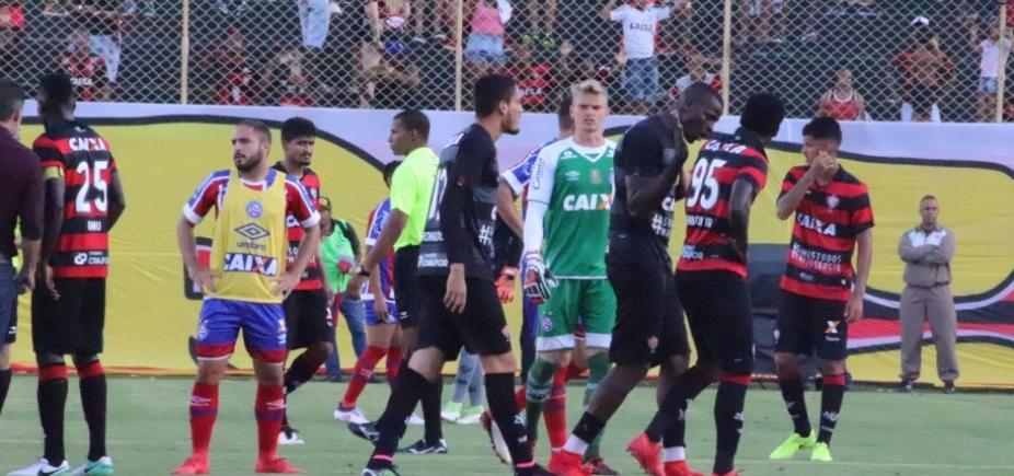 STJD tira multas, mantém suspensões do Vitória, mas impede que campeão baiano seja decretado