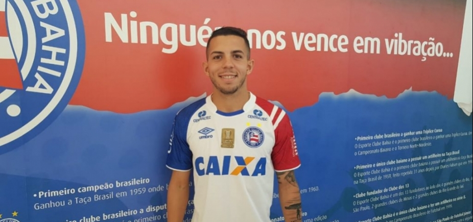 Bahia anuncia volante revelado no Vitória como reforço