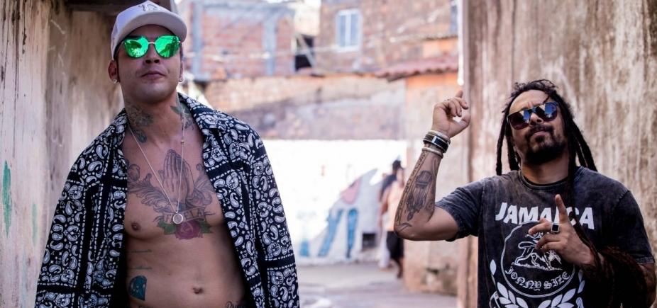 Ao lado de Marcelo Falcão, Kannário grava clipe em Salvador; veja prévia