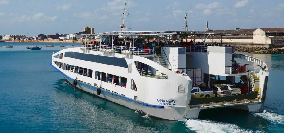 Ferry boat deve receber 99 mil passageiros na Semana Santa