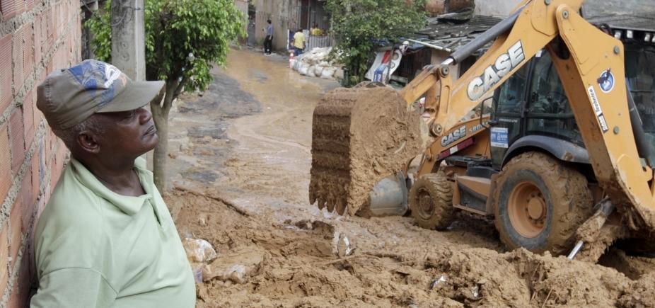 Salvador registra deslizamentos de terra em diversos bairros após chuva