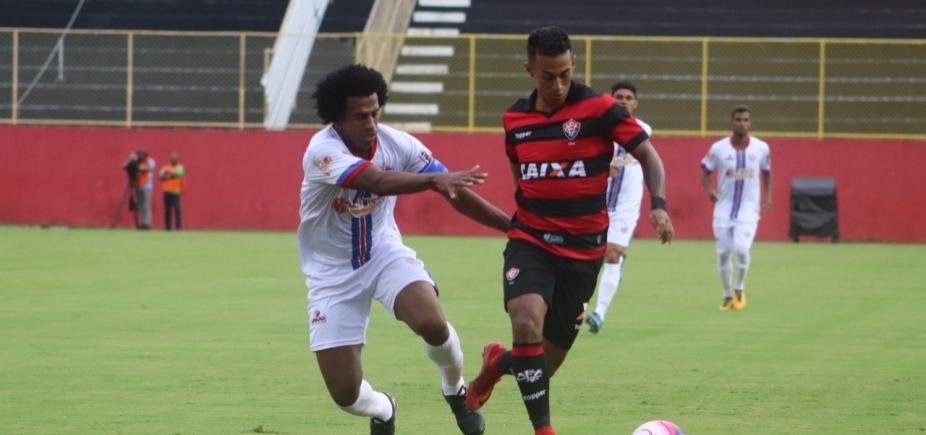 Vitória leva a melhor contra o Bahia de Feira no Barradão
