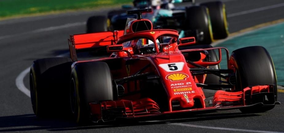 Sebastian Vettel vence primeira corrida do ano na Fórmula 1