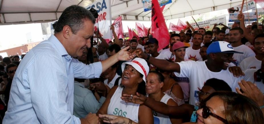 ʹQuero elevar a Atenção Básica de Salvador, que só tem 32%ʹ, diz Rui Costa