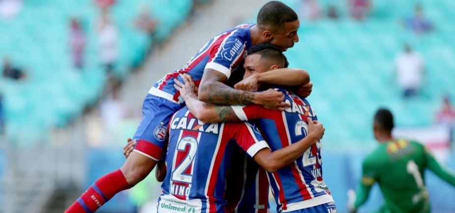 Em jogo com dois gols contra, Bahia vence a Juazeirense por 3 a 0