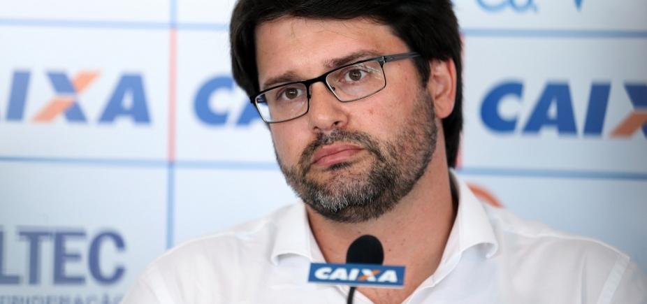 ʹArbitragem baiana é lamentávelʹ, diz presidente do Bahia