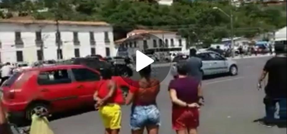 Ator da Globo sofre acidente durante gravação de novela em Salvador; veja vídeo