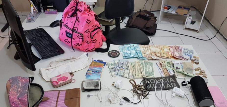 Bens furtados de casa de argentinos em Morro de São Paulo são recuperados