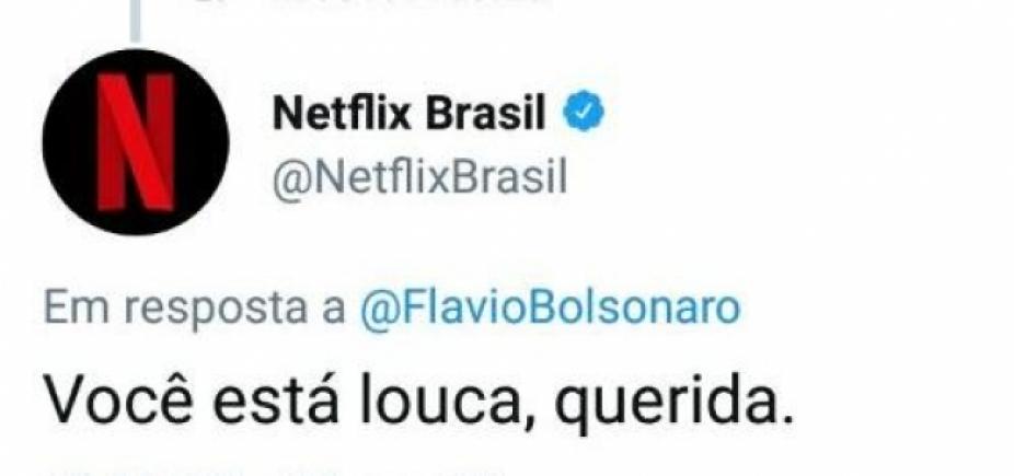 ʹVocê está louca, queridaʹ, diz Netflix a filho de Bolsonaro sobre série com pai