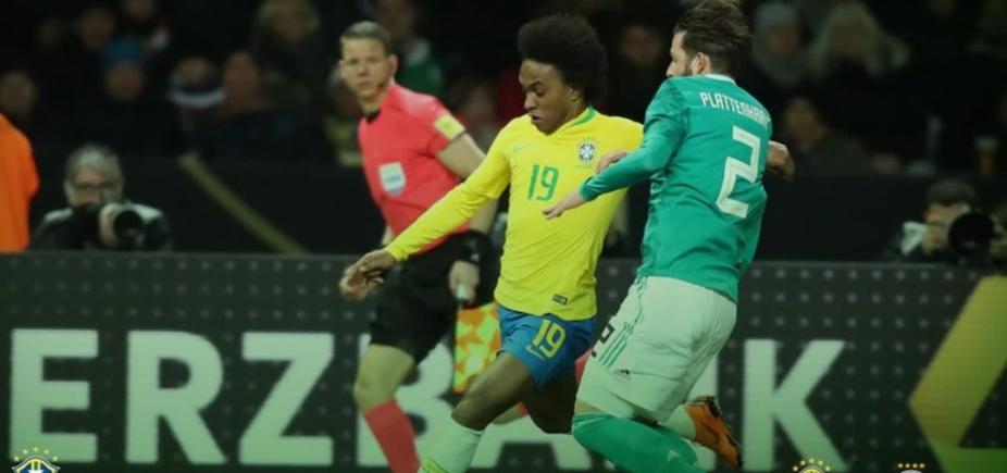 Brasil vence a Alemanha por 1 a 0