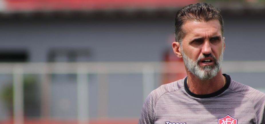 Mancini ressalta ʹconceito de jogoʹ assimilado pelos jogadores do Vitória