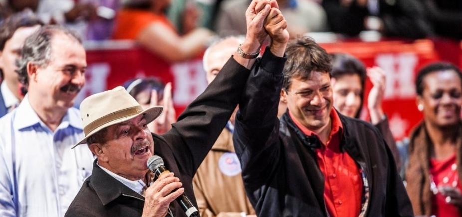 Haddad pode ser vice de Lula em chapa 'puro sangue'